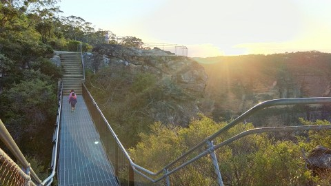 Elysian Rock Lookout and Olympian Rock Lookout, Leura