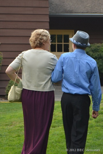 Wedding Pictures - Great Aunt and The Boy