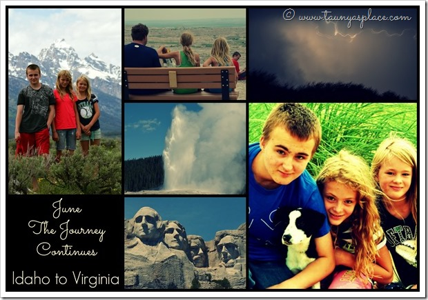 2013 Year in Review: The Great Adenture Continues, Idaho to Virginia