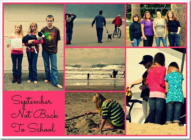 2013 Year in Review:  september 2013 - celebrating not back-to-school all month long!