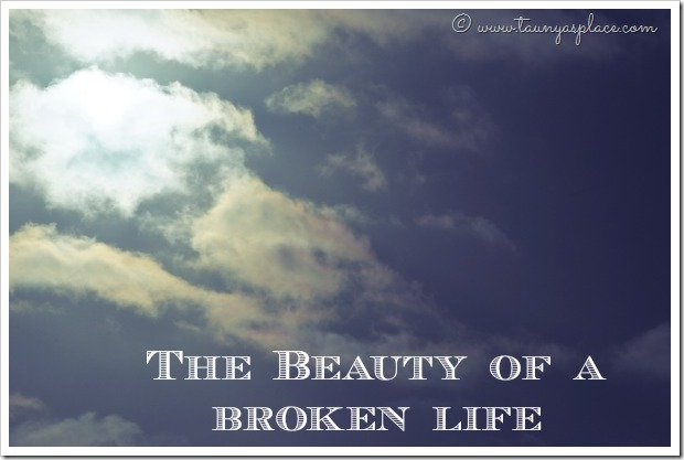 The Beauty of a Broken Life - Dealing with Depression