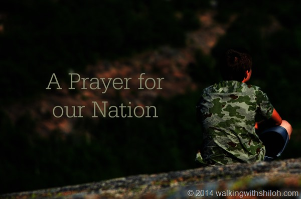 A Prayer For Our Nation