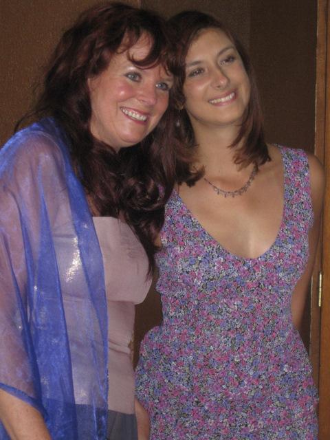 Darlene and Natalia