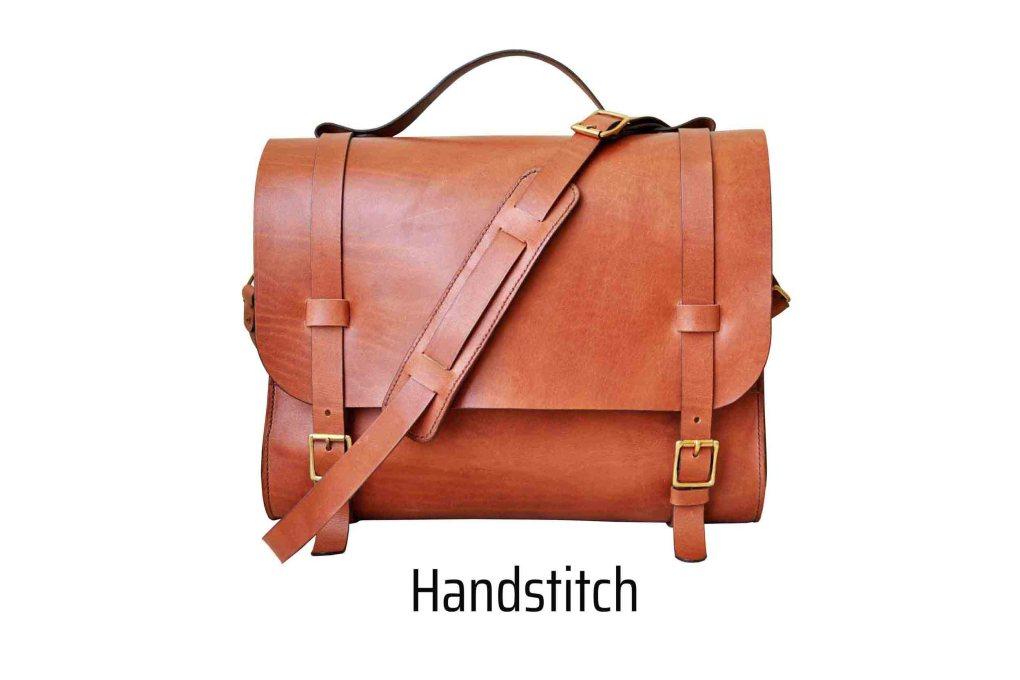 walklo leather hand stitch method