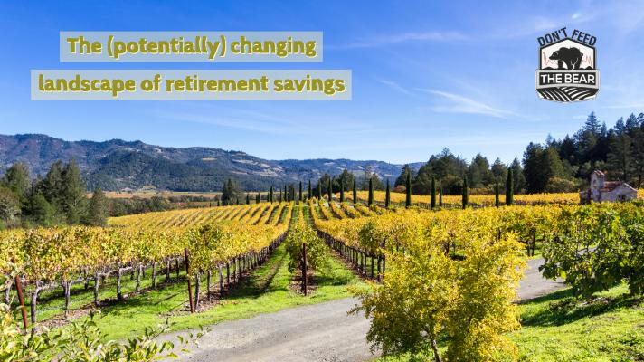 The (Potentially) Changing Landscape of Retirement Savings