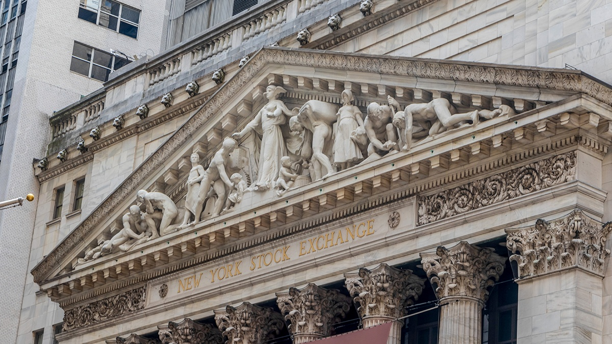 Facade of the New York Stock Exchange