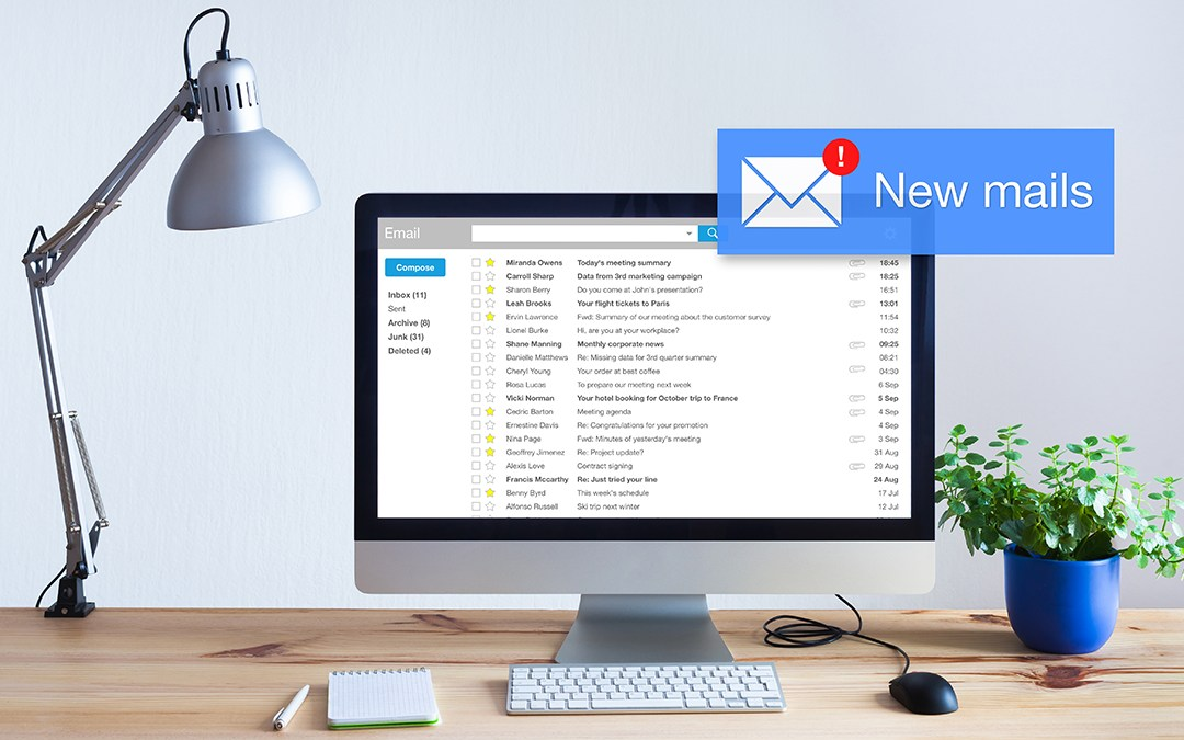Three Tips For Improving and Organizing Your Email Experience