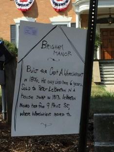 Brigham Manor High St