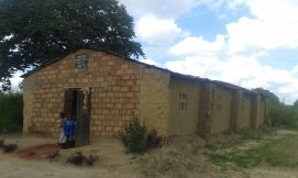 The church building for the Disciples of Christ who we ministered to while in Luanshya.