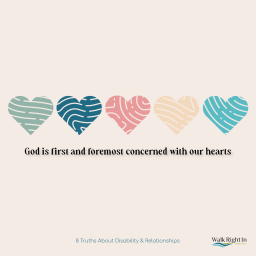 God is first and foremost concerned with our hearts.