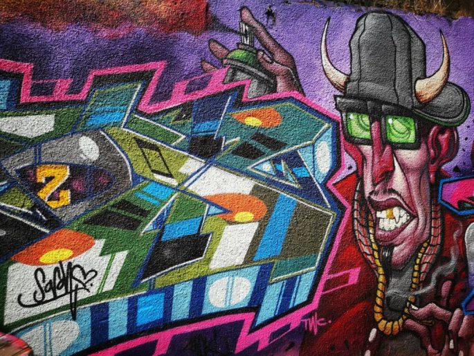 Birmingham Digbeth Graffiti Art 15
