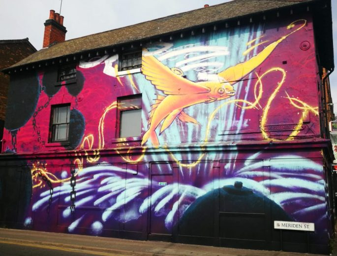 Birmingham Digbeth Graffiti Art 2