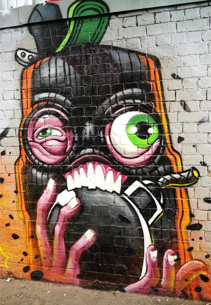 Birmingham Digbeth Graffiti Art 8