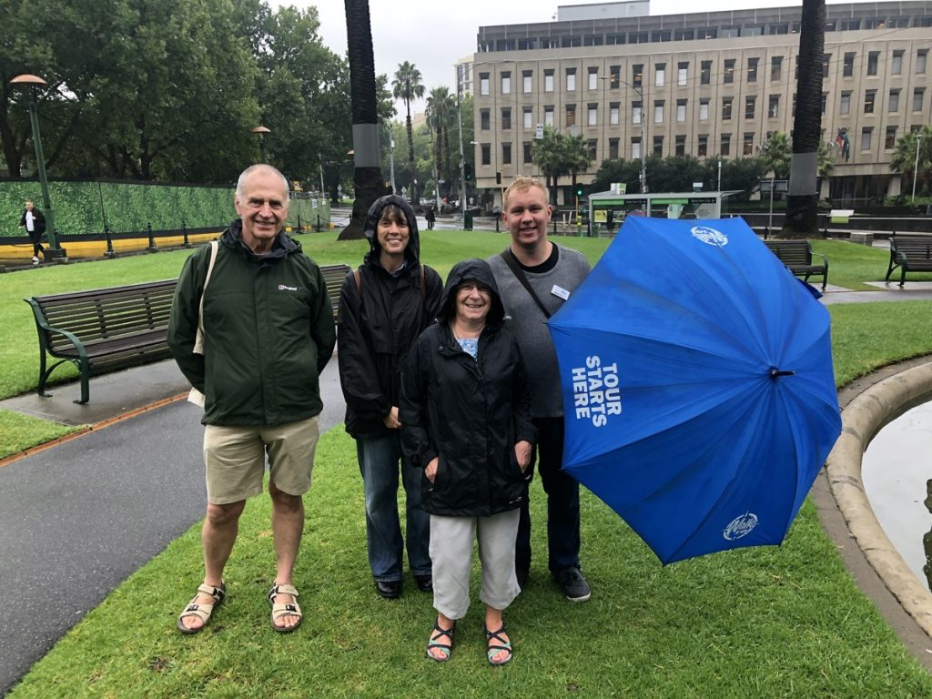 Beau's Complete Melbourne Walking Tour at 11am