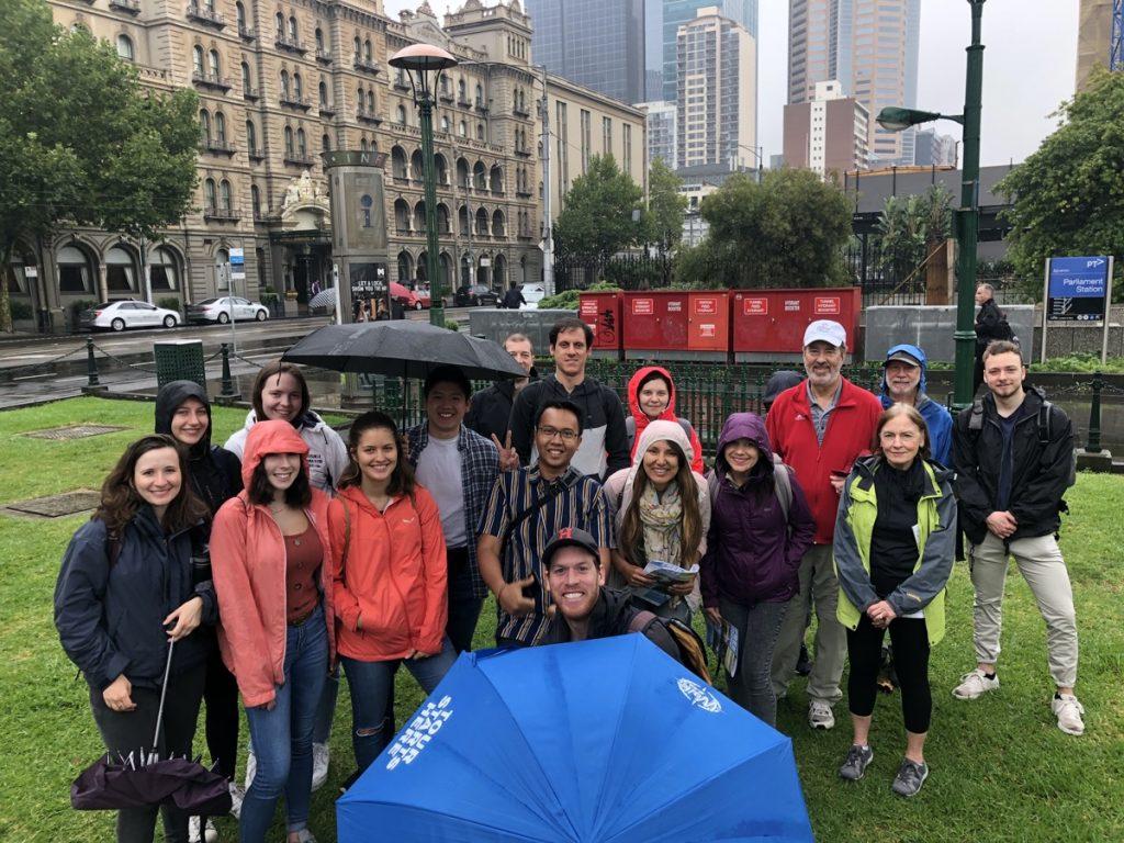 Hugo's Free Melbourne Walking Tour at 11am