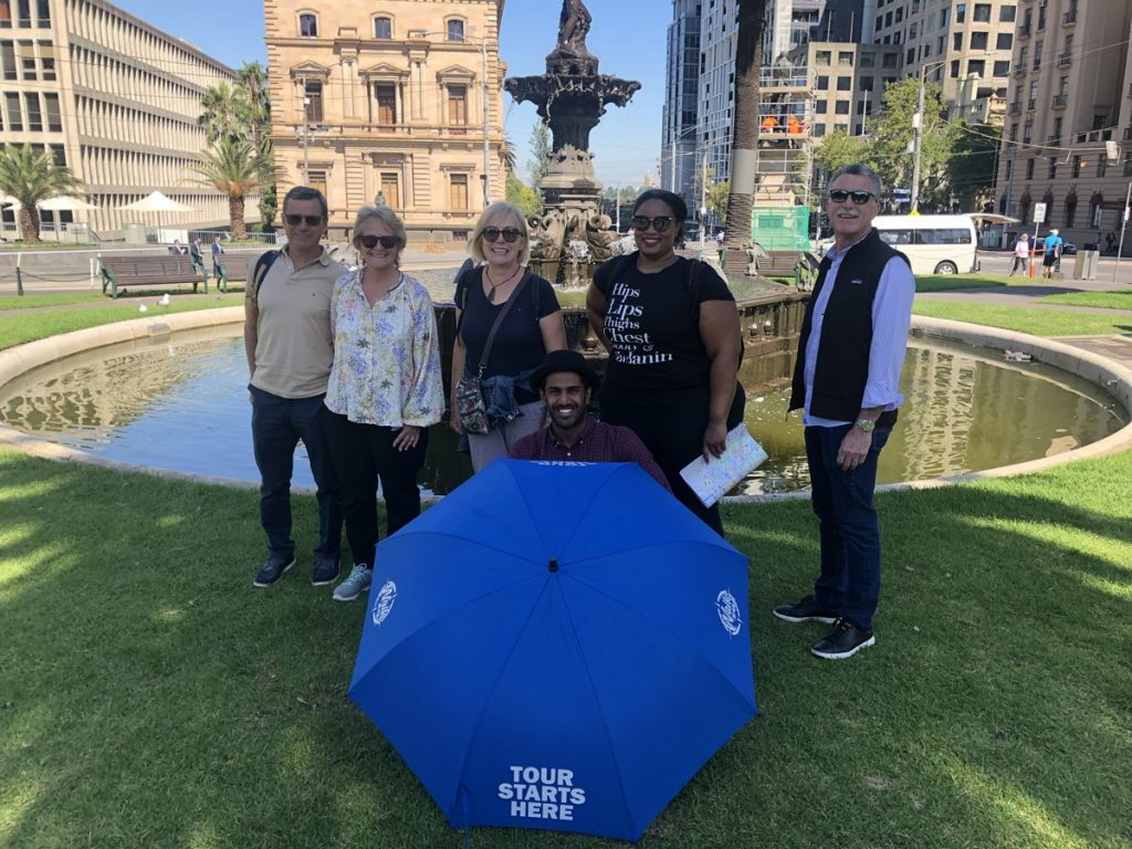 Aamir's 3pm Complete Walking Tour of Melbourne