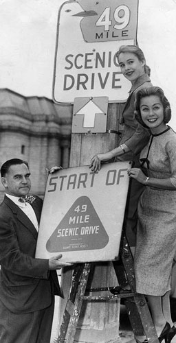 1958-New-49-Mile-sign