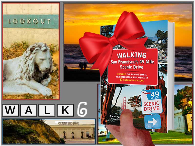 Holiday Gift — SF Walking Book - Walk 6