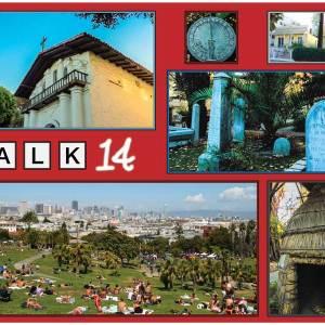 Walk #14 of Walking San Francisco's 49 Mile Scenic Drive