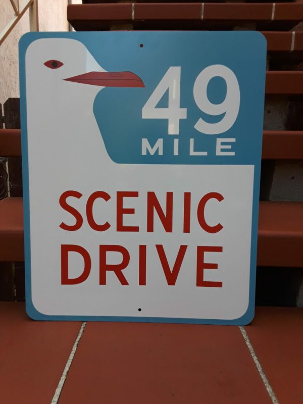 SF 49 Mile Scenic Drive Sign FOR SALE