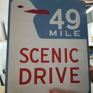 SF 49 Mile Seagull Sign FOR SALE
