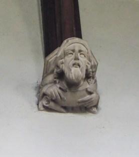 Ceiling boss, St Andrew, Weybread