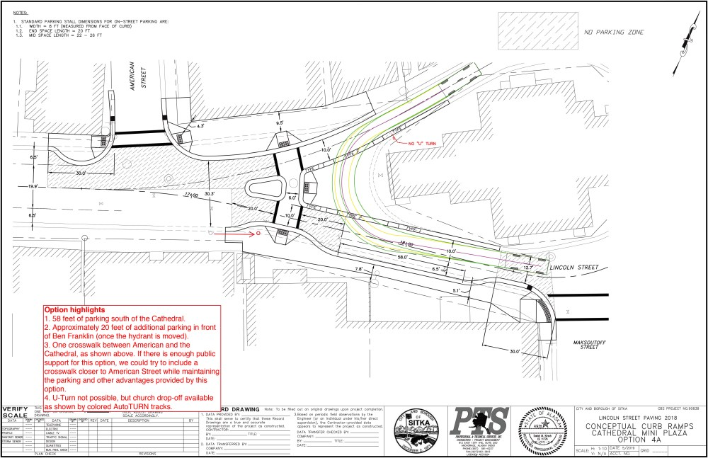 medium resolution of option 4a no u turn in front of st michael s cathedral