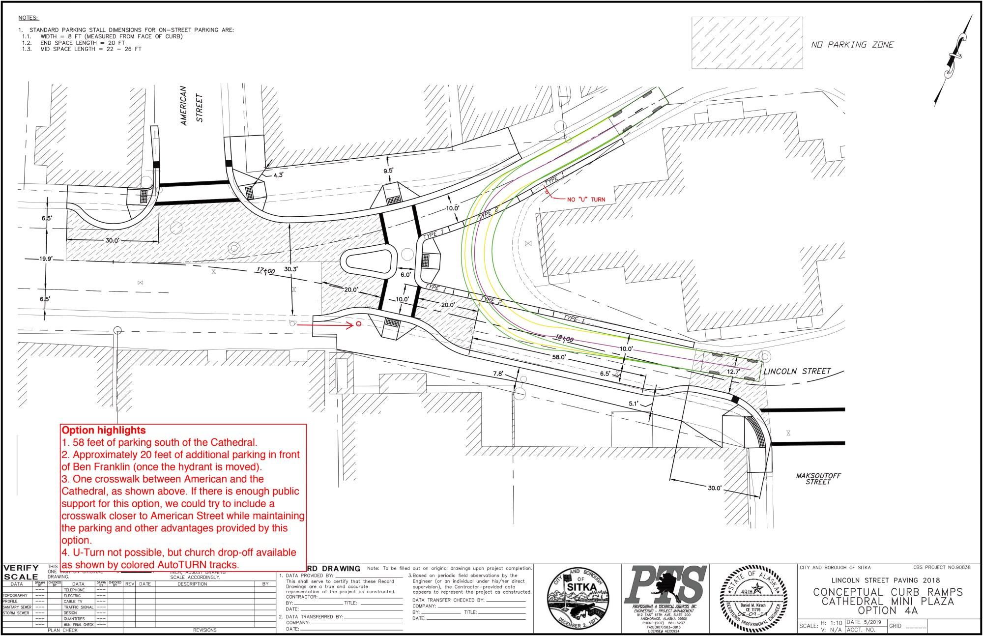 hight resolution of option 4a no u turn in front of st michael s cathedral