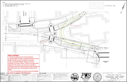 small resolution of option 4a no u turn in front of st michael s cathedral