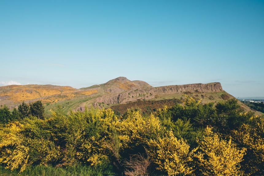 Edinburgh Arthurs Seat View
