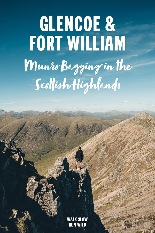 Glencoe and Fort William Munro Bagging in the Scottish Highlands