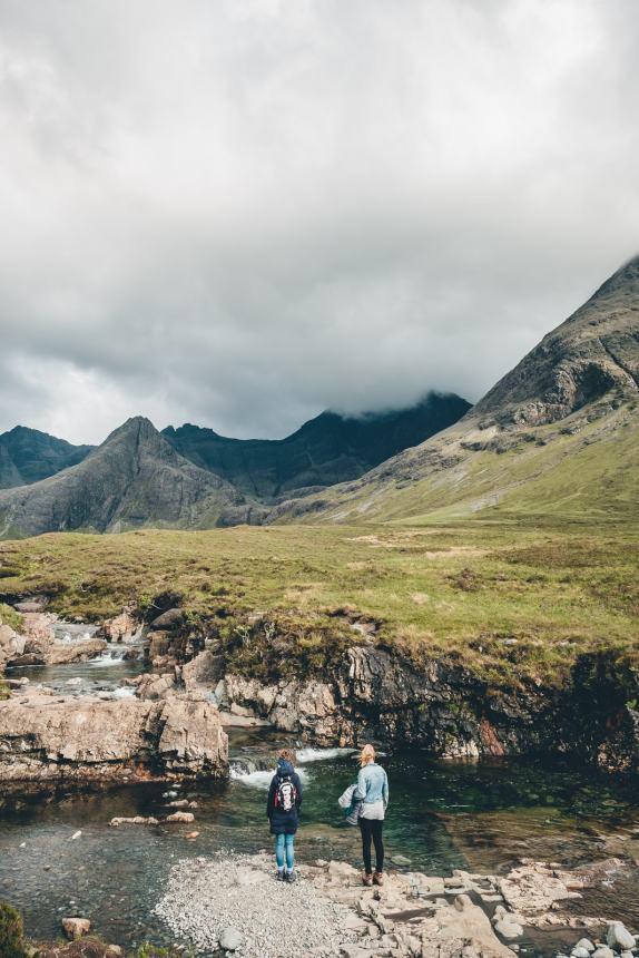 Isle of Skye Anna and Ali Fairy Pools