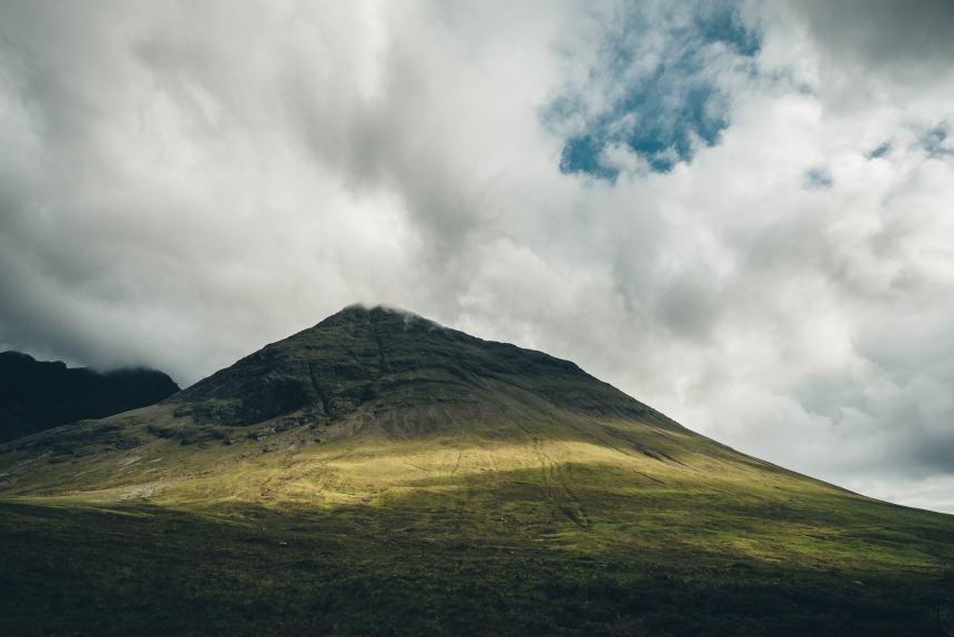 Isle of Skye Fairy Pools Epic Mountain Clouds