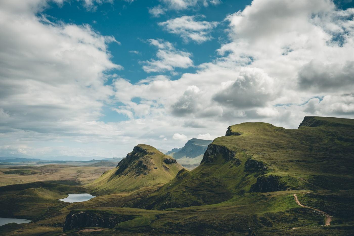 Isle of Skye The Quiraing Hiking