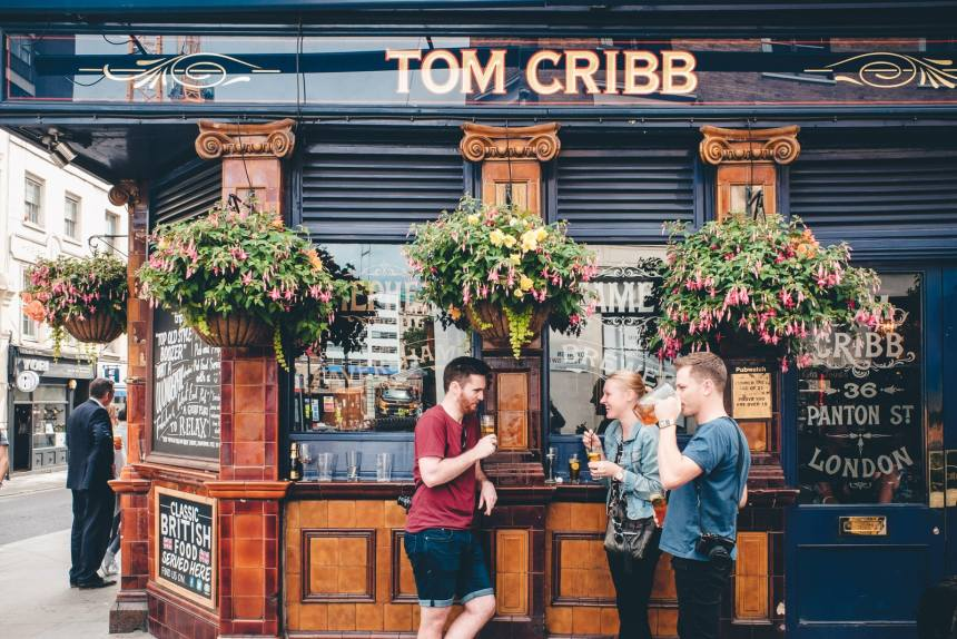 London Tom Cribb Pub with Year of Sundays min