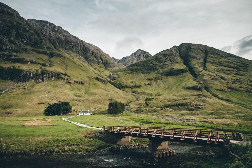 Scotland Bridge to White Stone Cottage