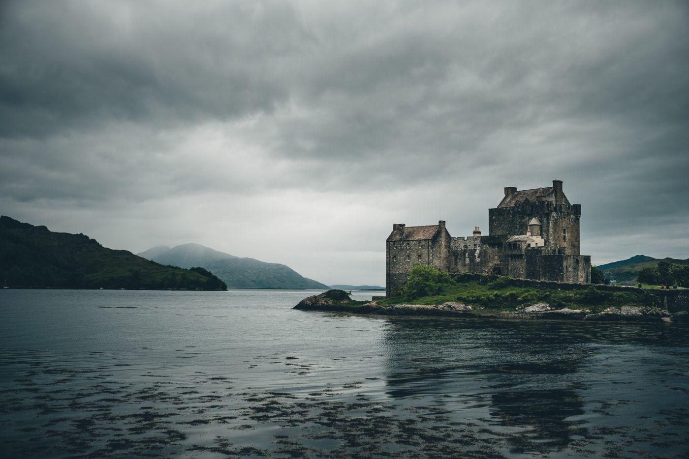 Scotland Eilean Donan Castle Moody