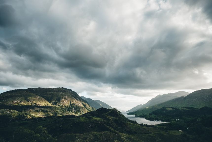 Scotland Fort William Epic Sky over Loch