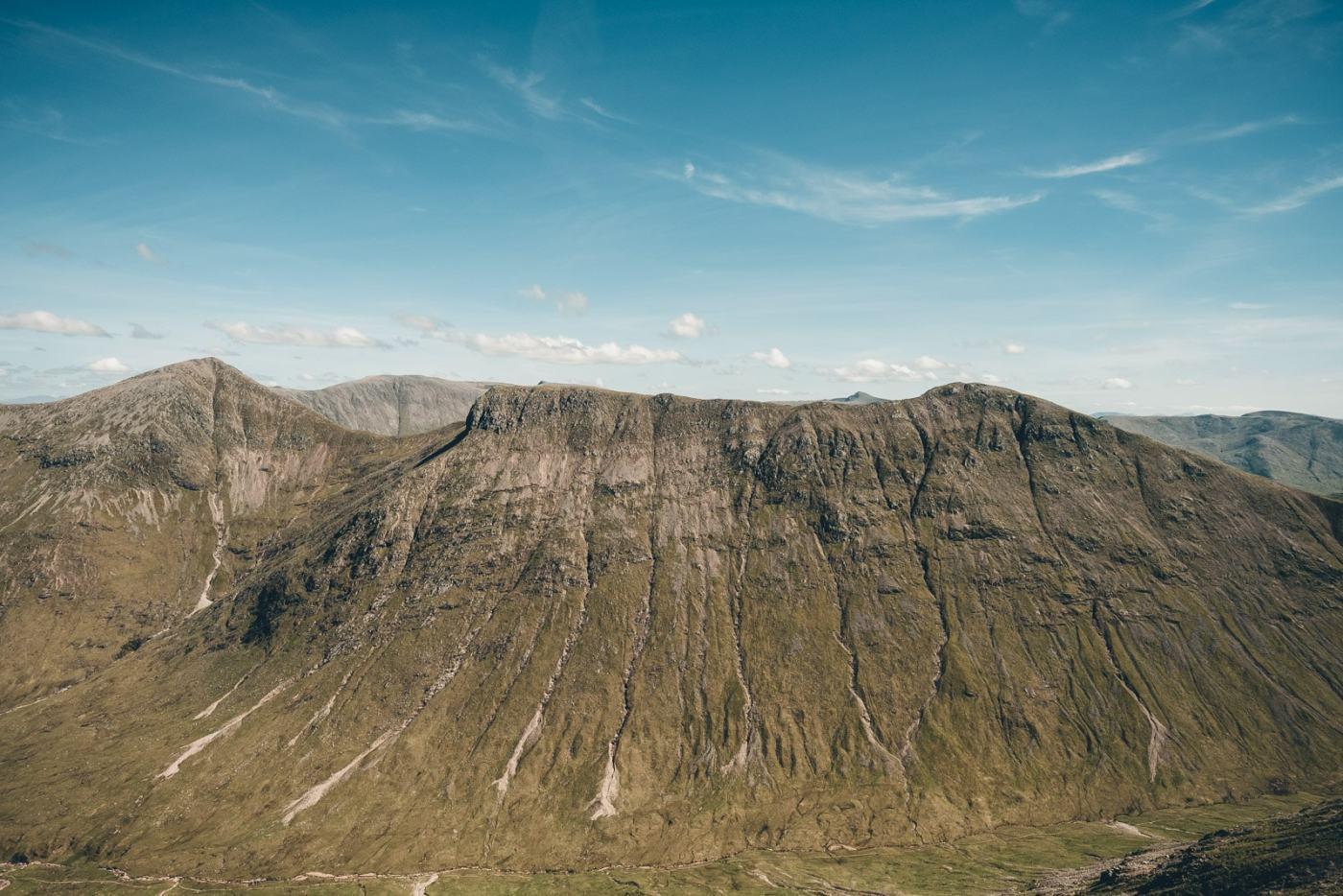 Scotland Glencoe Mountain Scarring