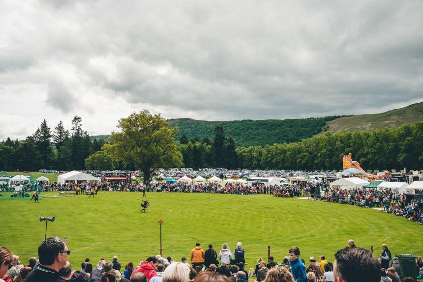 Scotland Highland Games Blair Castle