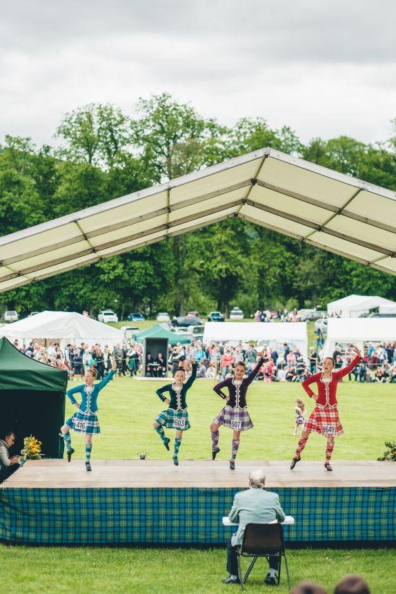 Scotland Highland Games Scottish Dancing