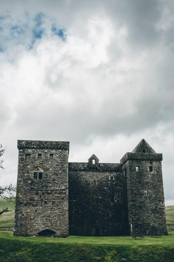 Scotland Newcastleton Hermitage Castle
