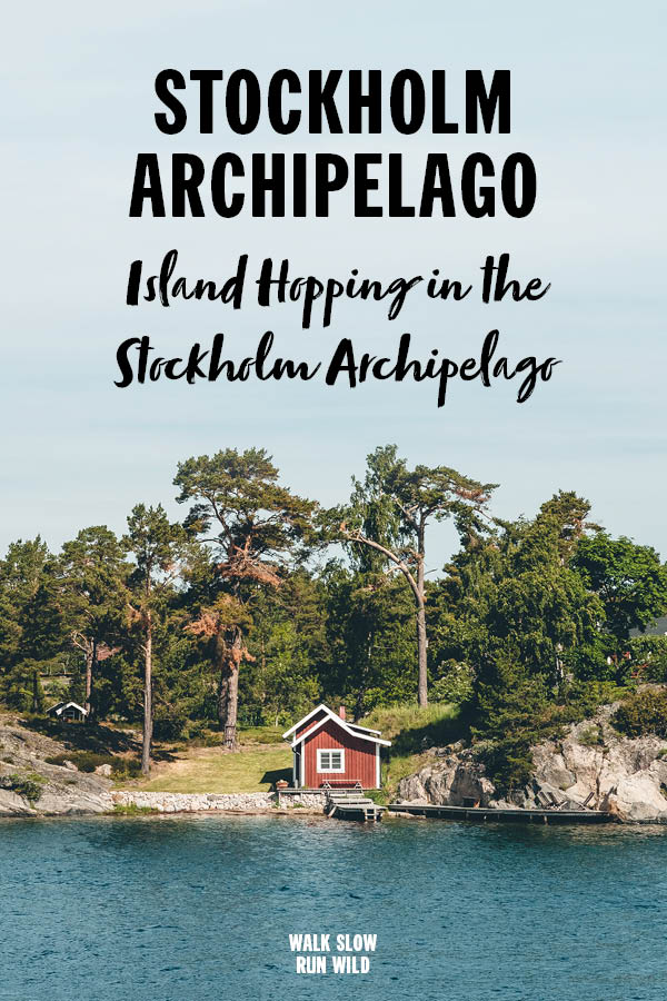 Island Hopping in the Stockholm Archipelago Cottage