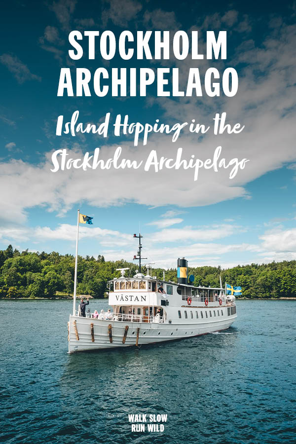 Island Hopping in the Stockholm Archipelago