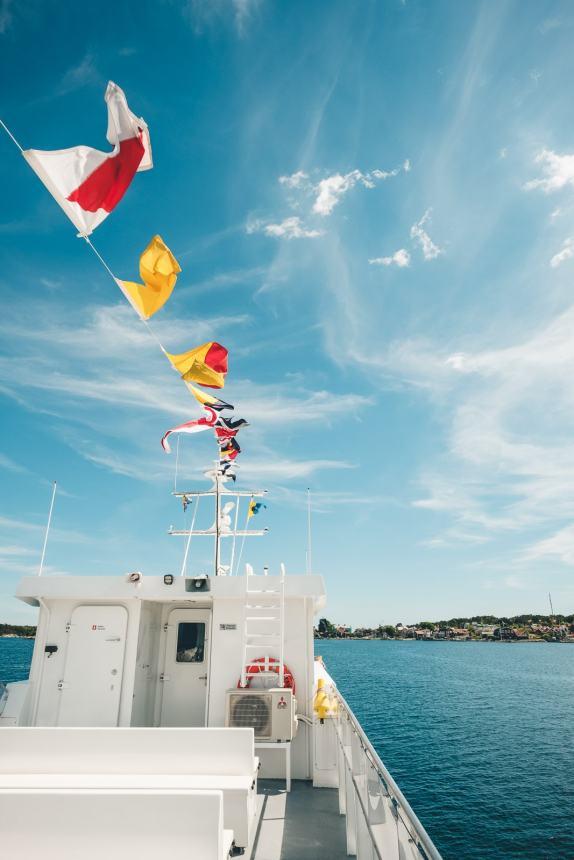Stockholm Archipelago Ferry Flags 2