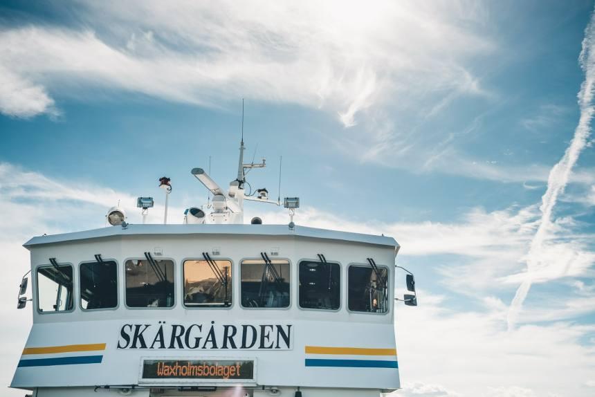 Stockholm Archipelago Fjardlang Ferry
