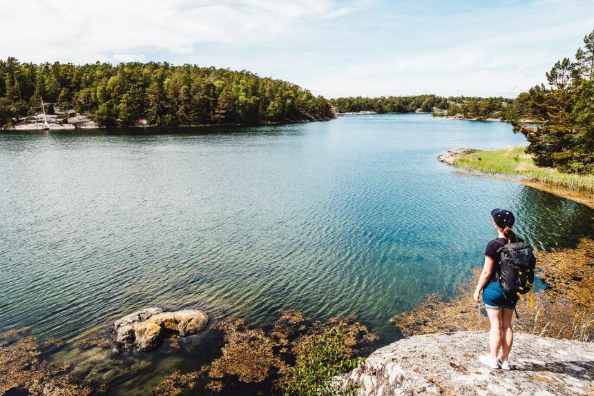 Stockholm Archipelago Fjardlang Water View Anna