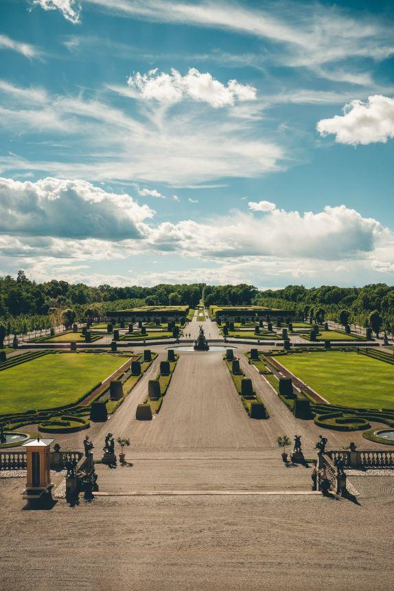 Stockholm Drottningholm Palace Gardens