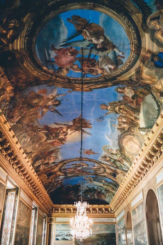 Stockholm Drottningholm Palace Interior Ceiling