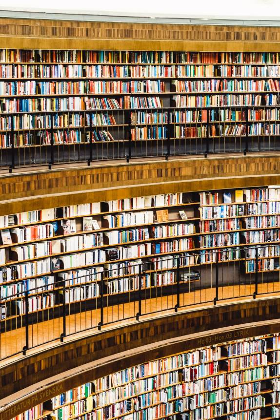 Stockholm Library Three Levels